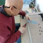 Dad Cutting Glass 2 (Medium)
