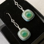 Turquoise Bullseye Earrings2 (Medium)