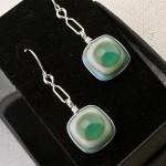 Turquoise Bullseye Earrings2 (Medium)