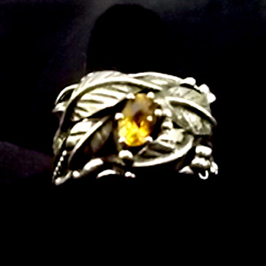 citrine ringciitrine ring