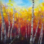 Birch Trees Acrylic