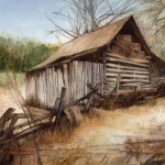 Community Barn watercolor