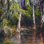 Peaceful Bayou Acrylic