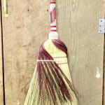 Detail of fancy kitchen broom