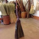 Long plait kitchen broom